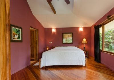 Teak Floors, Master Bedroom